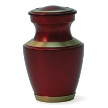 Mini urn Trinity Crimson Red