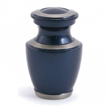 mini urn Trinity Moonlight Blue