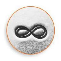 infinity afdruk glasbedel